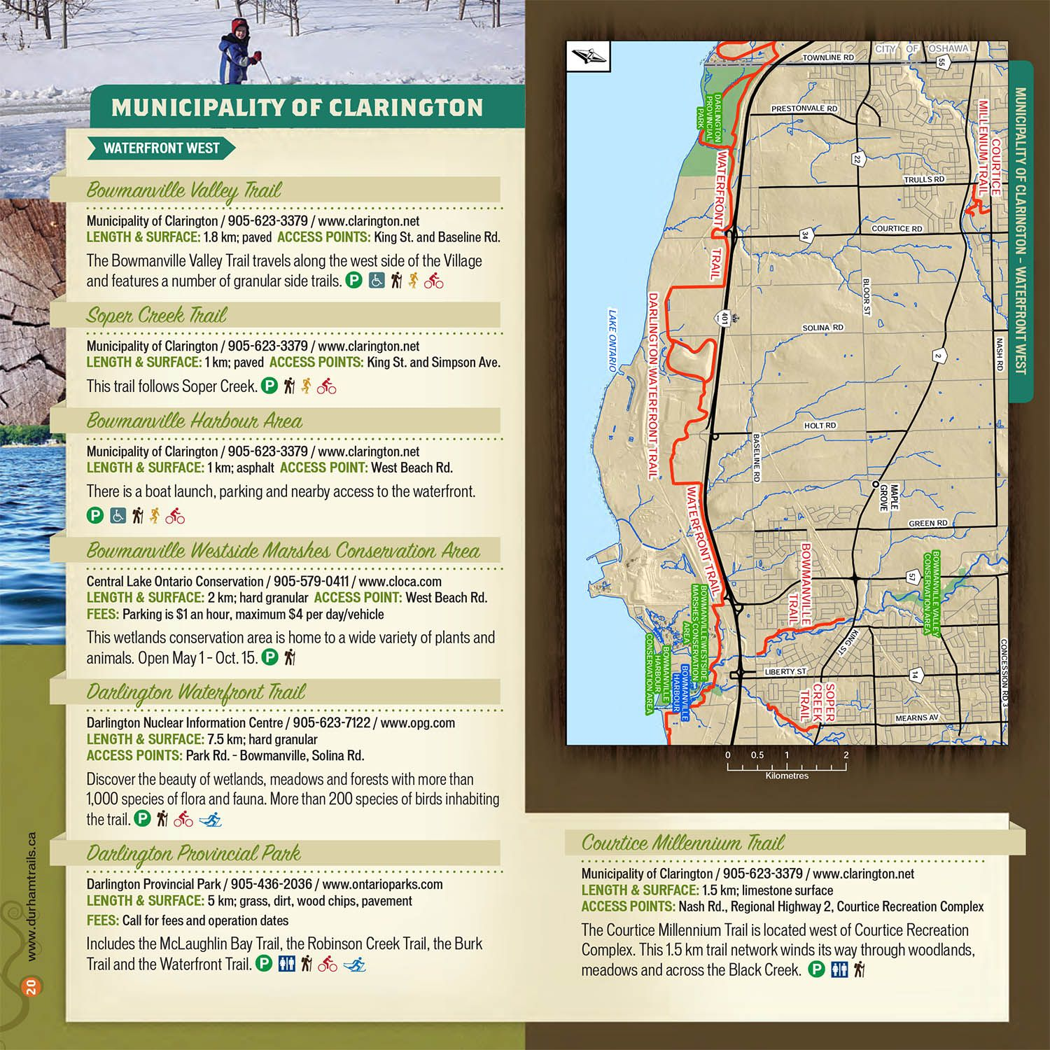 Municipality of Clarington Waterfront West Guide
