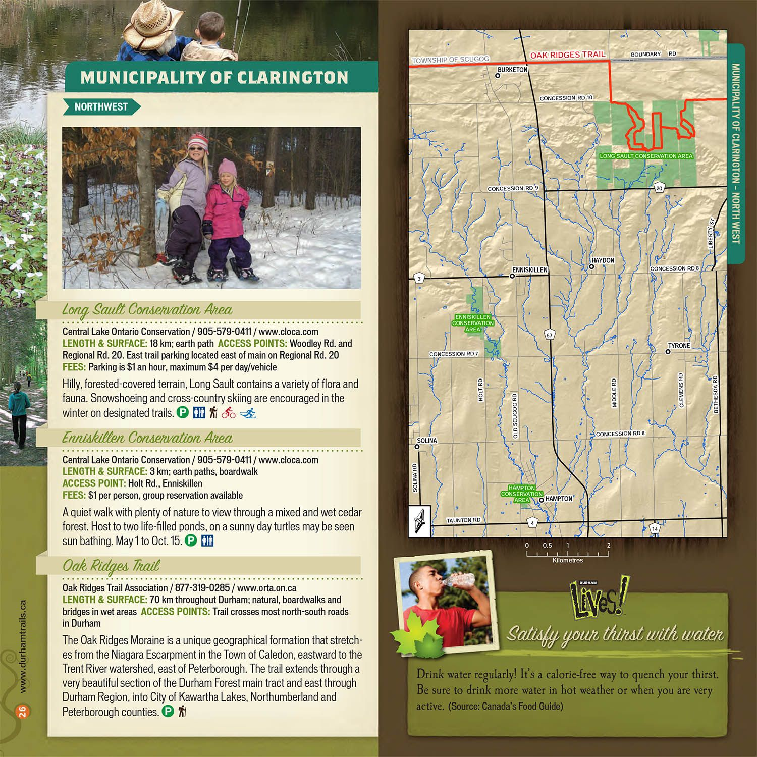Municipality of Clarington Northwest Trail Guide
