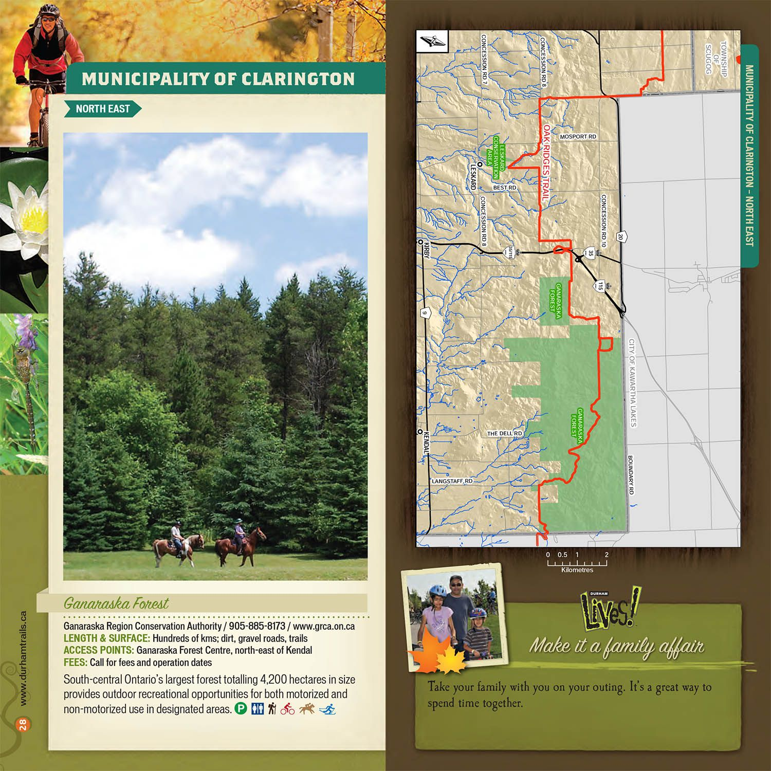 Municipality of Clarington Northeast Trail Guide