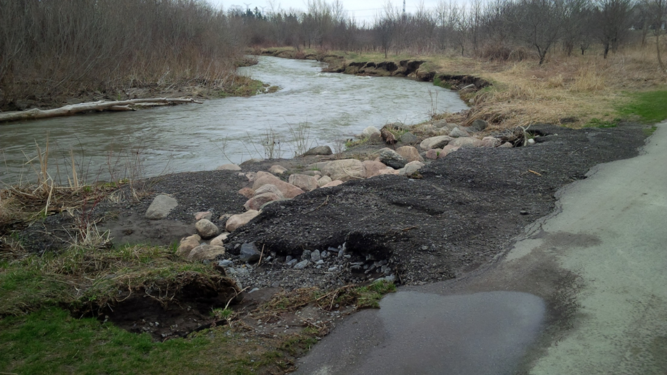 Bowmanville Creek Bank Stabilization
